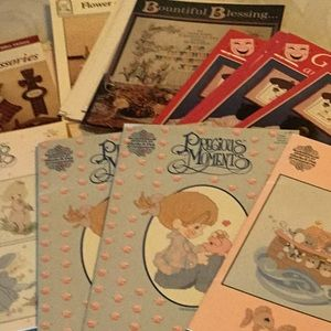 New, 60 assorted cross stitch books